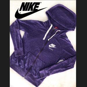 Like New 🏃♀️Purple Nike Zip Hoodie Small